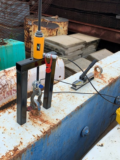 eye bolt and anchor point testing