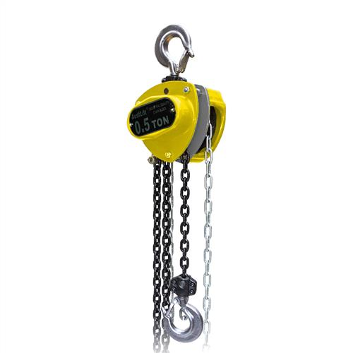 W4 Chain Block with chain and hook